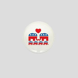 Republican Family Mini Button