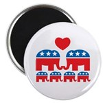 Republican Family Magnet