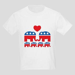 Republican Family Kids Light T-Shirt