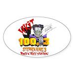 WKIT Oval Sticker