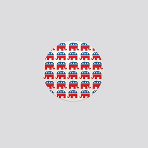Republican Rally Mini Button