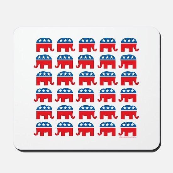 Republican Rally Mousepad