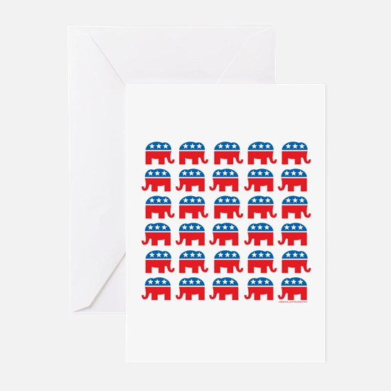 Republican Rally Greeting Cards (Pk of 10)