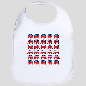 Republican Rally Bib