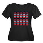 Republican Rally Women's Plus Size Scoop Neck Dark