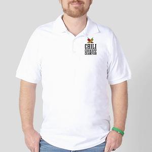 Chili Cookoff Champion Golf Shirt