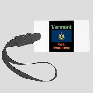 North Bennington Vermont Luggage Tag