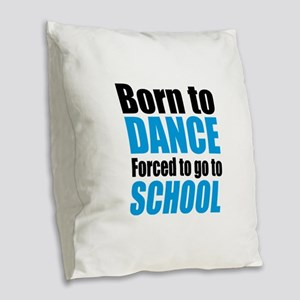dance Burlap Throw Pillow