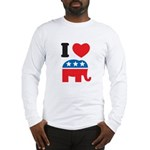 I Heart Republicans Long Sleeve T-Shirt
