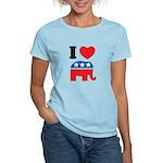 I Heart Republicans Women's Light T-Shirt