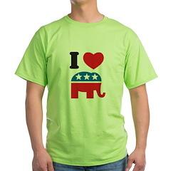 I Heart Republicans T-Shirt
