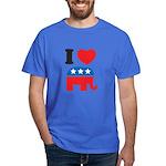 I Heart Republicans Dark T-Shirt