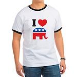I Heart Republicans Ringer T
