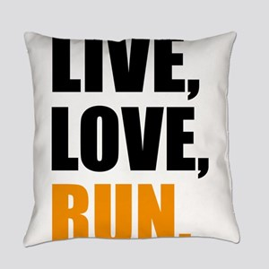 run Everyday Pillow