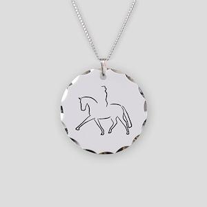 Dressurpferd Necklace Circle Charm
