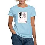 Mark Twain Fiddle Women's Light T-Shirt