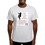 Mark Twain Fiddle Light T-Shirt