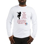 Mark Twain Fiddle Long Sleeve T-Shirt
