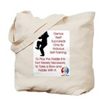Mark Twain Fiddle Tote Bag