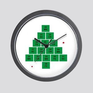 Oh Chemistree Wall Clock