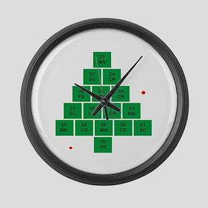 Oh Chemistree Large Wall Clock