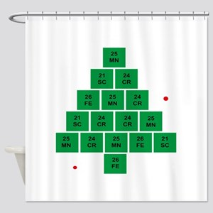 Oh Chemistree Shower Curtain
