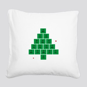 Oh Chemistree Square Canvas Pillow