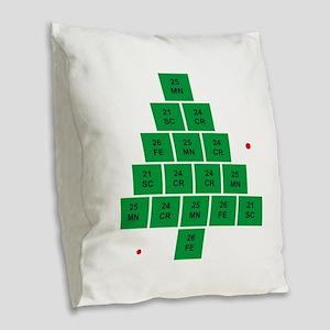Oh Chemistree Burlap Throw Pillow