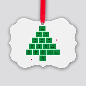 Oh Chemistree Picture Ornament