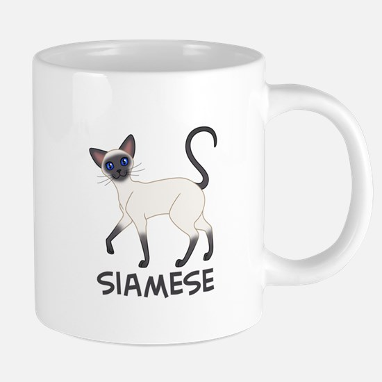 Blue Point Siamese Mugs