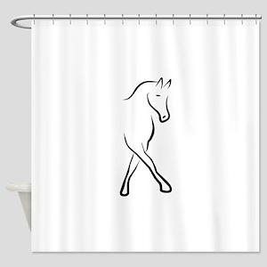 dressage Shower Curtain