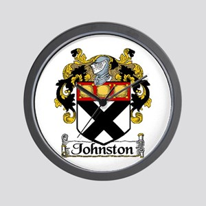 Johnston Arms Wall Clock