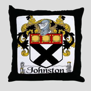 Johnston Arms Throw Pillow