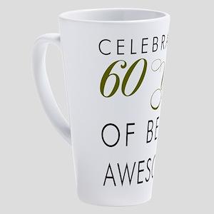 Celebrating 60 Years Drinkware 17 oz Latte Mug
