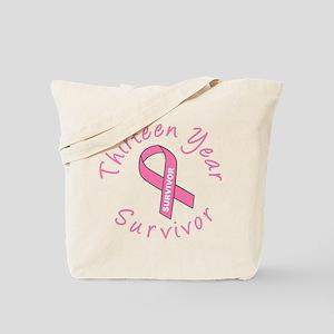 Thirteen Year Survivor Tote Bag
