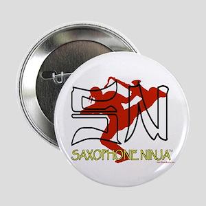 """Saxophone Ninja 2.25"""" Button"""