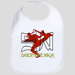 Saxophone Ninja Bib