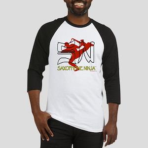 Saxophone Ninja Baseball Jersey