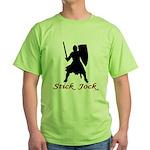 Stick Jock Green T-Shirt