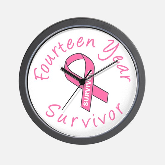Fourteen Year Survivor Wall Clock