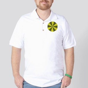 Yellow Illusion Golf Shirt