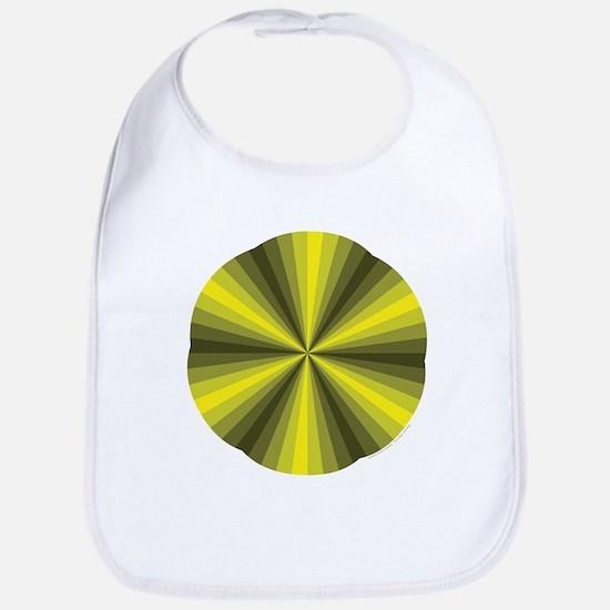 Yellow Illusion Bib