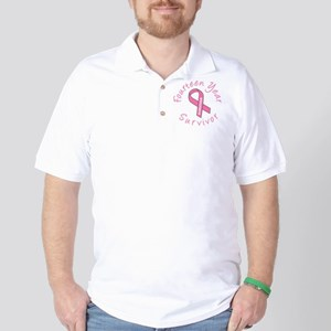Fourteen Year Survivor Golf Shirt