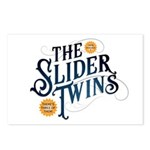 Slider Twins Postcards (package Of 8)