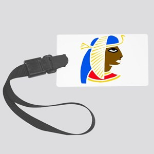 African Egyptian girl Large Luggage Tag