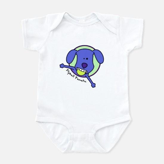 Flyball Fanatic Baby Bodysuit