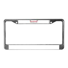 DTF License Plate Frame