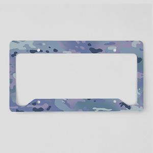 Camouflage: Arctic Purple License Plate Holder