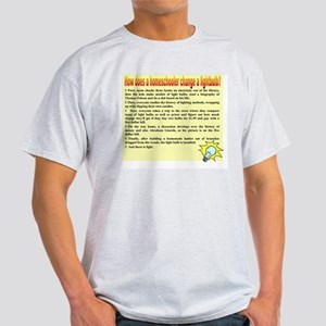 Homeschool Lightbulb Light T-Shirt