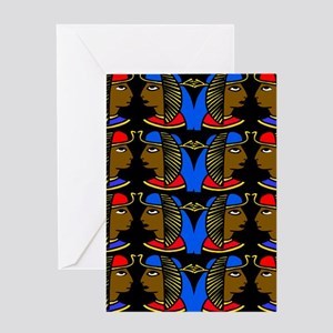 Afrocentric greeting cards cafepress african history greeting cards m4hsunfo